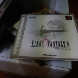 プレイステーション(PlayStation)の『FINAL FANTASY2』ゲームソフト(家庭用ゲームソフト)