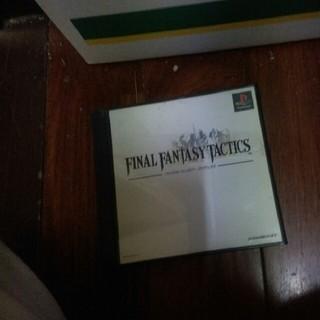 プレイステーション(PlayStation)の『ファイナルファンタジー タクティクス』ゲームソフト(家庭用ゲームソフト)