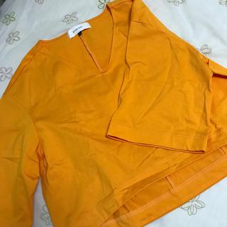 ルシェルブルー(LE CIEL BLEU)の美品 ルシェルブルー tシャツ(Tシャツ(半袖/袖なし))