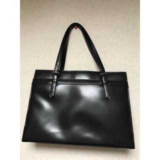 アオキ(AOKI)の新品 LES MUES リクルート ハンドバッグ ショルダーバッグ 黒(トートバッグ)
