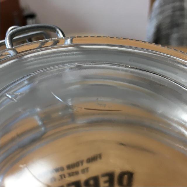 無印良品/ガラスキャニスター 保存容器 4点セット