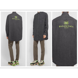 バレンシアガ(Balenciaga)のバレンシアガ×MR POTERシャツ 売り切りセール(シャツ)