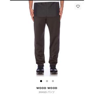 ウッドウッド(WOOD WOOD)の定価3万越え!wood wood ジャージパンツ(スラックス)
