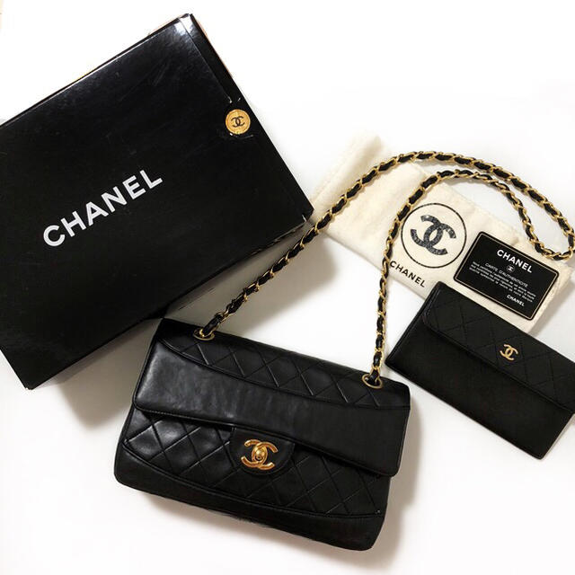 c1ee014c7238 CHANEL - 美品♡箱付き♡シャネル♡レア♡マトラッセ♡2way♡チェーン ...