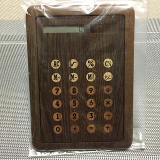 ムジルシリョウヒン(MUJI (無印良品))のソーラー 木製 電卓  まとめて購入OK(その他)