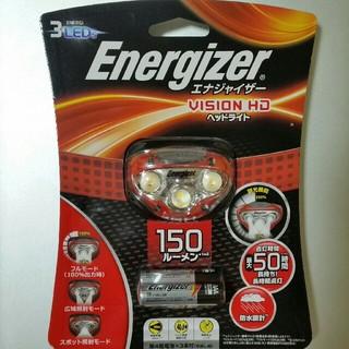 エナジャイザー(Energizer)の新品 未使用 防水 エナジャイザー Energizer 3LED ヘッドライト①(ライト/ランタン)