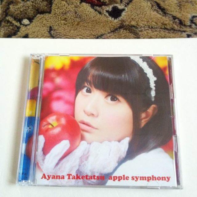 CD + DVD 竹達彩奈 apple sympho...