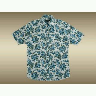 バーバリー(BURBERRY)の新品タグバーバリーブラックレーベル バーバリー フラワー 加工 半袖 シャツ(シャツ)