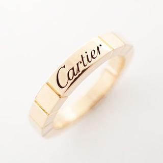 カルティエ(Cartier)の【未使用】カルティエ ラニエール リング 指輪 750PG 46号 Z0391(リング(指輪))