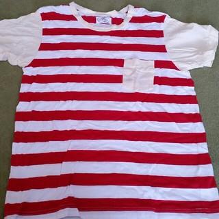 ウンナナクール(une nana cool)のボーダーTシャツ  タグ外しただけ(Tシャツ(半袖/袖なし))