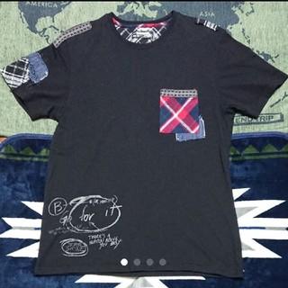 デシグアル(DESIGUAL)の特別価格即決をデシグアル(パッチワーク+プリントカットソー)(Tシャツ/カットソー(半袖/袖なし))