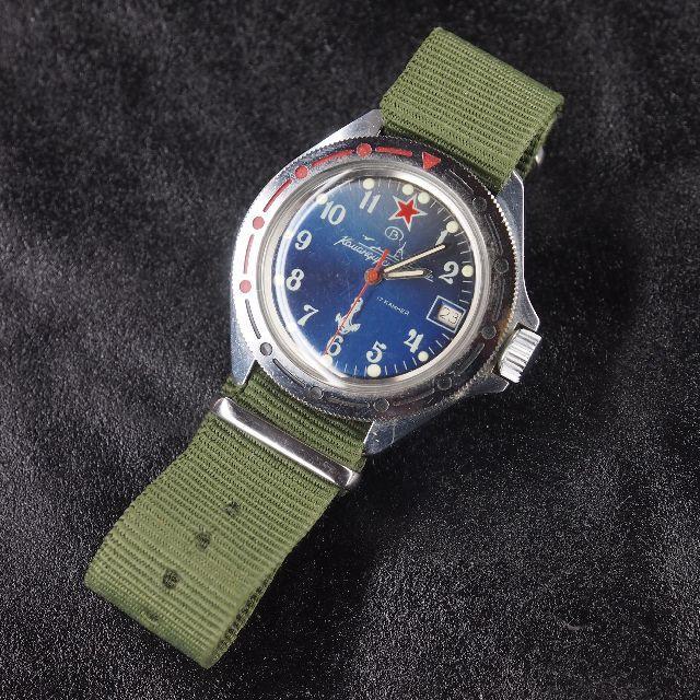 best service 31155 2707c ロシア製軍用時計 ボストーク | フリマアプリ ラクマ