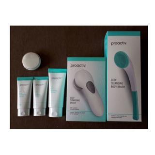 プロアクティブ(proactiv)の新品 プロアクティブ 3ステップセット 30日 電動洗顔ブラシ ボディブラシ(サンプル/トライアルキット)