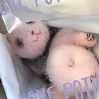 MM様専用シャンシャンぬいぐるみ 生後2日と10日目上野動物園(ぬいぐるみ)