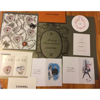 シャネル(CHANEL)のCHANEL 切手 ショップカードセット(カード/レター/ラッピング)