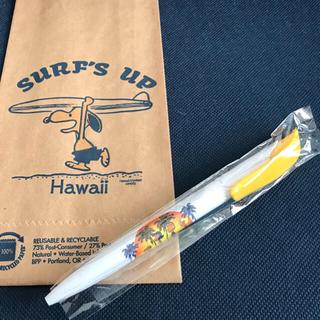 スヌーピー(SNOOPY)の新品 ハワイ限定 日焼けスヌーピー  ボールペン (ペン/マーカー)