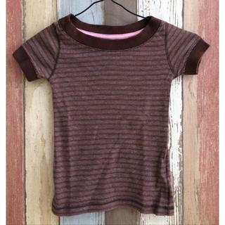 ギャップ(GAP)のGAP Tシャツ カラフルボーダー 110㎝(Tシャツ/カットソー)