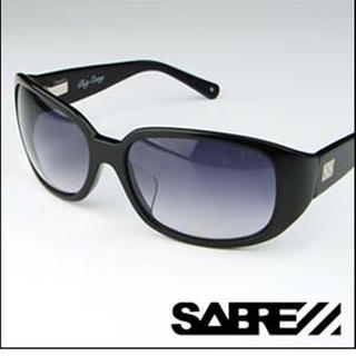 セイバー(SABRE)の美品◆SABRE◆サングラス ブラック(サングラス/メガネ)