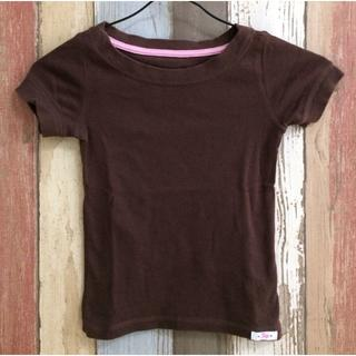 ギャップ(GAP)のGAP Tシャツ 110㎝ ブラウン無地(Tシャツ/カットソー)