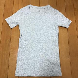 ユニクロ(UNIQLO)のユニクロ Tシャツ グレー(Tシャツ(半袖/袖なし))