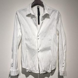 ダブルジェーケー(wjk)の#00339/ wjk シワ加工シルバーホックシャツ(シャツ)