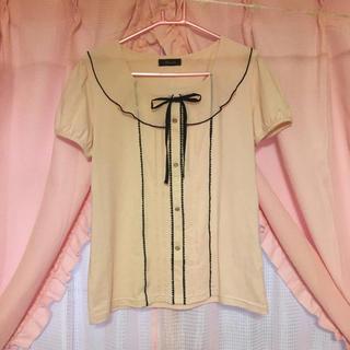 シマムラ(しまむら)のしまむら♡襟付きお嬢様風カットソーLL(カットソー(半袖/袖なし))