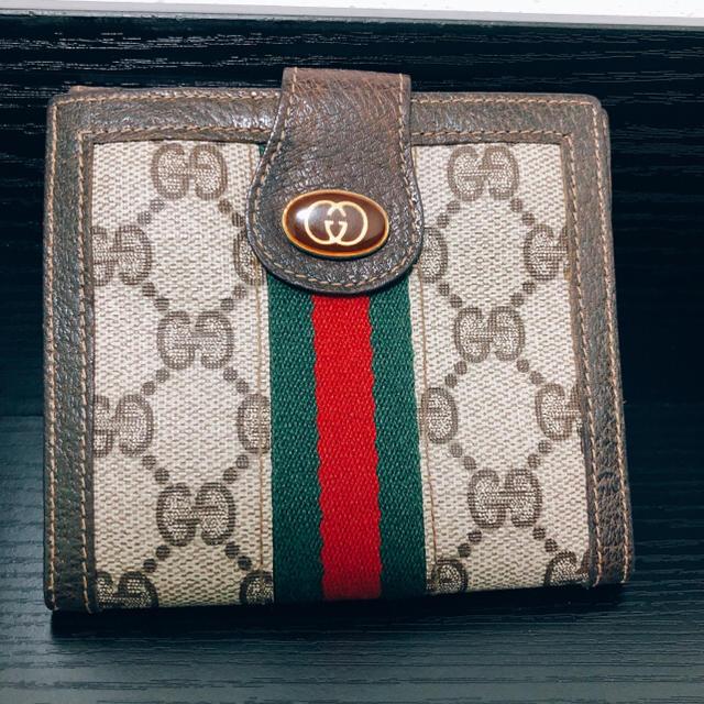 new style 4d2ff abe34 超美品♩オールドグッチ シェリーライン 2つ折財布   フリマアプリ ラクマ