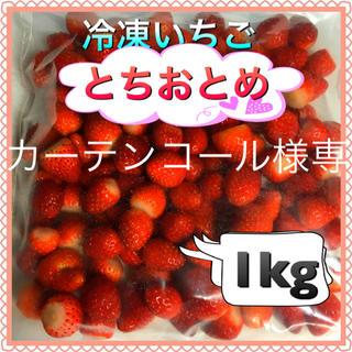 冷凍いちご  1kg  カーテンコール様専用(フルーツ)