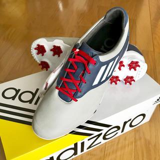 アディダス(adidas)の【新品】adizero tour WD ゴルフシューズ 25.5cm(シューズ)