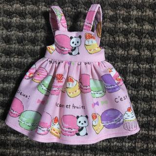 #50 マカロンパンダのジャンパースカート(人形)