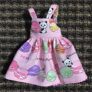 #51 マカロンパンダのジャンパースカート(人形)