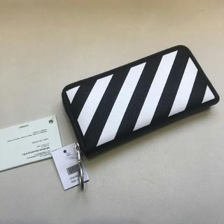 オフホワイト(OFF-WHITE)の新品off white wallet財布オフホワイト(長財布)
