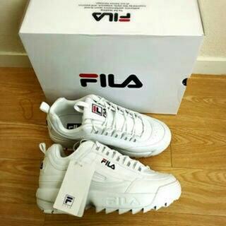 フィラ(FILA)のFILA フィラ DISRUPTER 2 ホワイト(スニーカー)