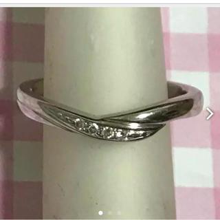 ヨンドシー(4℃)のしげみにー様専用 4℃ プラチナリング(リング(指輪))