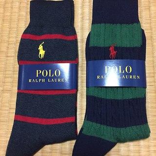 ポロラルフローレン(POLO RALPH LAUREN)の靴下(POLO RALPH LAUREN 2足)(その他)
