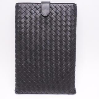 ボッテガヴェネタ(Bottega Veneta)のボッテガヴェネタ IPADMINI ケース モバイルケース ブラック イントレ(iPadケース)