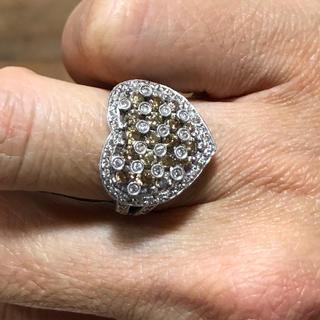 ダイヤ&ブラウンダイヤモンドリング(リング(指輪))
