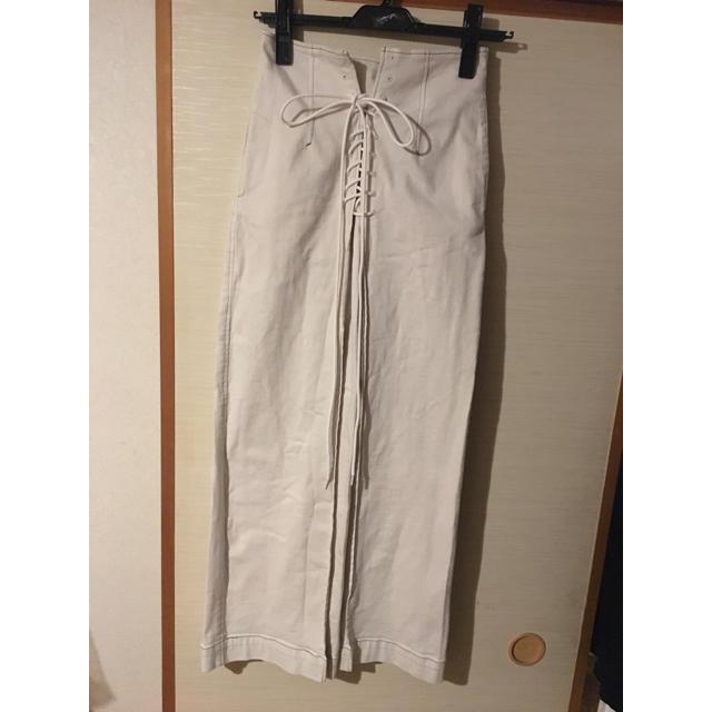 FRAY I.D(フレイアイディー)のFRAYI.Dレースアップタイトスカート レディースのスカート(ロングスカート)の商品写真