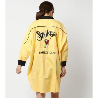 ダブルネーム(DOUBLE NAME)の刺繍ボーリングシャツ(シャツ/ブラウス(半袖/袖なし))