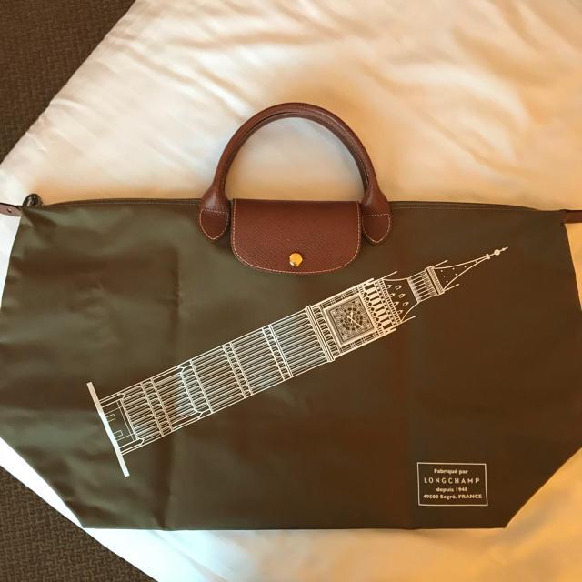 ca7b5ecaca3a LONGCHAMP(ロンシャン)のロンドン限定 ロンシャン ルプリアージュ L ビックベン レディースのバッグ(