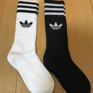 アディダス(adidas)の★新品★アディダス★靴下★24-26★2足セット★(ソックス)