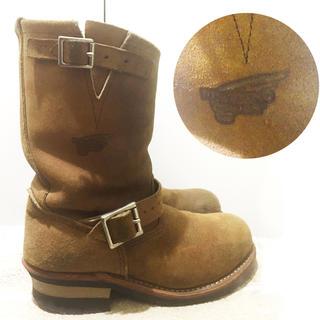 レッドウィング(REDWING)のRED WING(レッドウィング)エンジニアブーツ/キャメル  24.5cm(ブーツ)