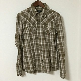 ハイダウェイ(HIDEAWAY)のHIDEWAY NICOLE チェック 長袖シャツ ワークシャツ(シャツ)