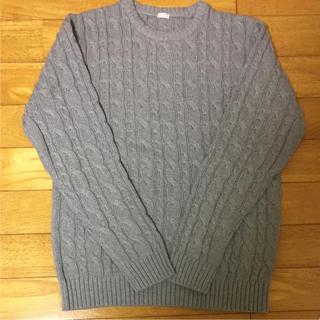 ジーユー(GU)のGU★綿ニット 新品(ニット/セーター)