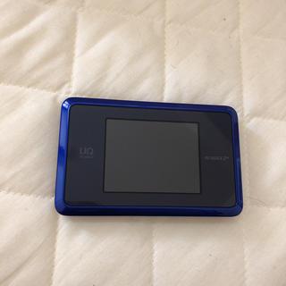 エヌイーシー(NEC)の美品 Speed Wi-Fi NEXT WX03(PC周辺機器)