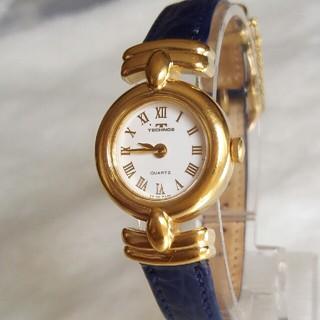 テクノス(TECHNOS)のテクノス腕時計 新品電池交換レディースクォーツ (腕時計)