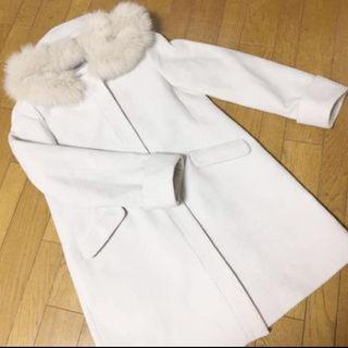 マジェスティックレゴン(MAJESTIC LEGON)のunrelish コート ファー付き(毛皮/ファーコート)
