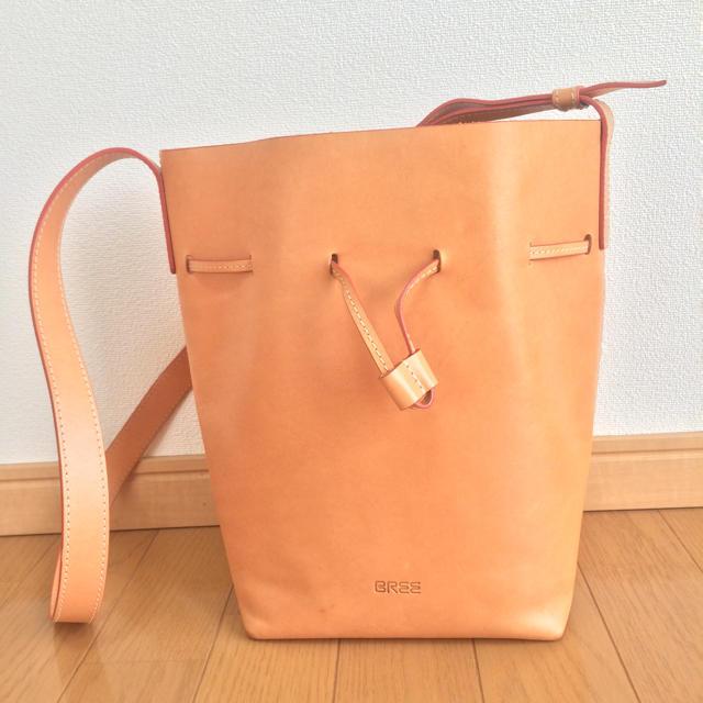 BREE ヌメ革 バケツ型バッグ