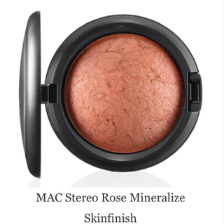 mac mac ミネラライズ スキンフィニッシュ ステレオローズの通販 ラクマ