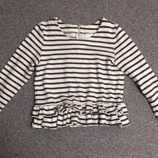 ビームス(BEAMS)の裾フリルカットソー(カットソー(長袖/七分))